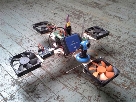 drone diy projects e waste quadcopter lifts your spirits while keeping costs
