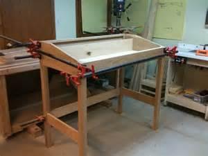 standing desk by scottt lumberjocks woodworking
