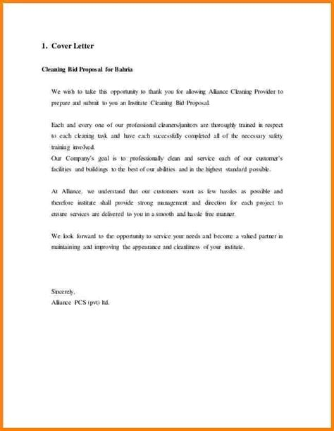 cover letter for cleaning covering letter format quotation