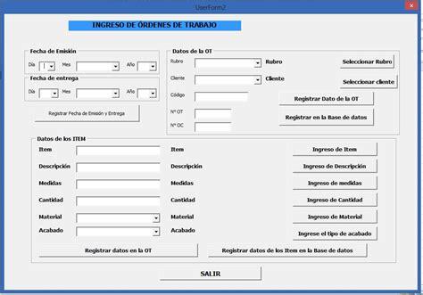 formulario orden de compra mis 5 ejercicios favoritos de userforms 171 excel avanzado