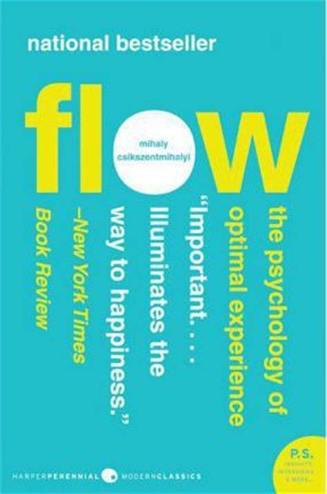 in the flow books flow mihaly csikszentmihalyi 9780061339202
