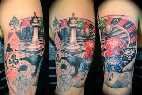 gambling tattoo images amp designs