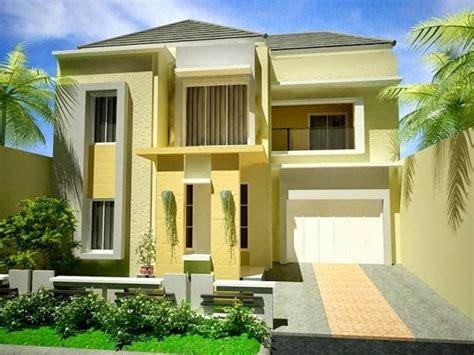 contoh warna cat  bagus  rumah berbagai contoh