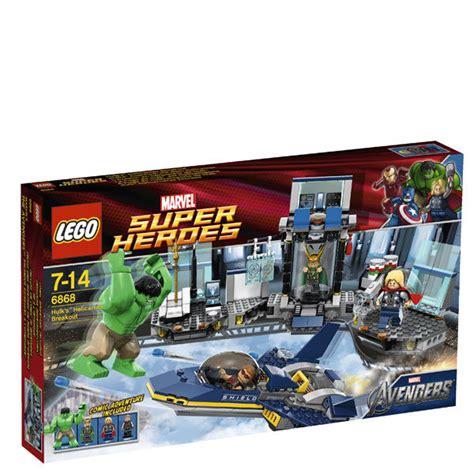 Murah Lego Superheroes 6868 S Helicarrier Breakout lego heroes s helicarrier breakout 6868 toys thehut