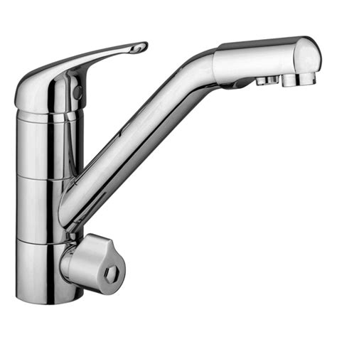 rubinetti a tre vie idealaqua miscelatore per lavello cucina a 3 vie separate