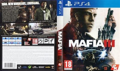 Sony Ps4 Mafia Iii Reg 3 mafia 3 ps4 iii sony playstation 4 brand new sealed free