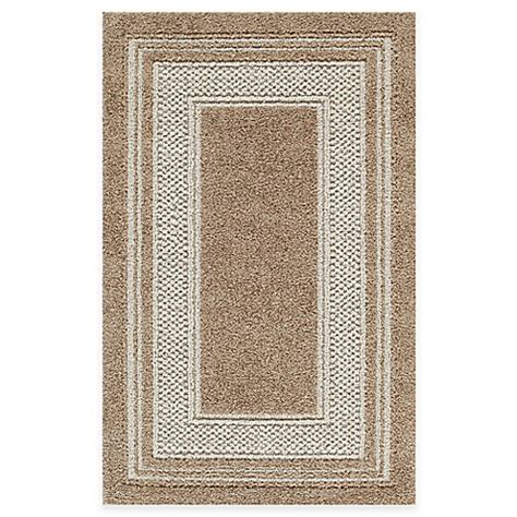 rugs at bed bath and beyond double border accent rug in toast bed bath beyond