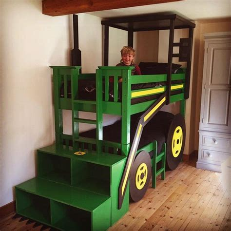 john deere tractor bunk bed build your kids a tractor bunk bed the owner builder network