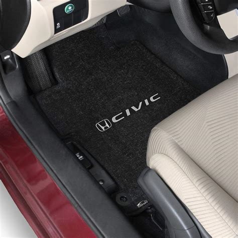 2013 Honda Civic Sedan Floor Mats by 2013 Honda Civic Logo Lloyd Ultimat 3 Floor Mat Set