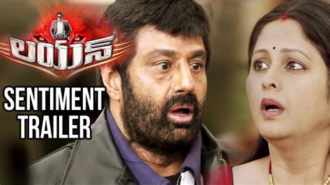 lion film review telugu lion telugu movie sentiment trailer balakrishna