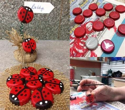 Wonderfull Recycled Ls Ideas Wonderfull Recycled Ls Ideas Bottle Caps Got Recycled Into These Wonderful Ladybugs Recycled