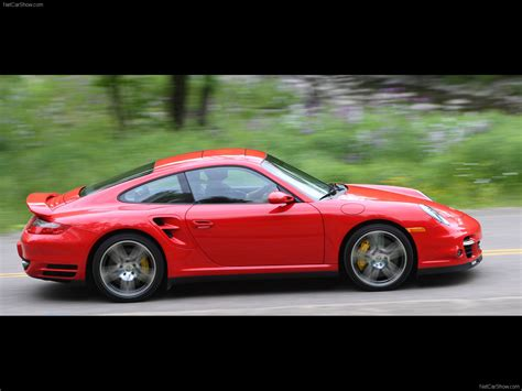 red porsche 2007 red porsche 911 turbo wallpapers
