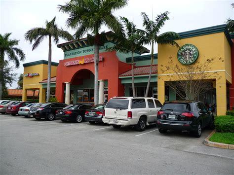 plantation towne square shopping center w broward blvd