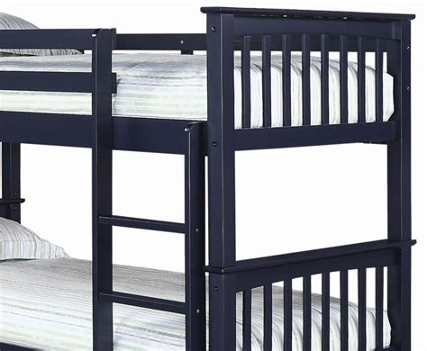 Navy Blue Bunk Bed Albany Navy Blue Bunk Bed 3ft Uk Delivery
