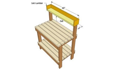 potting bench plans free free outdoor plans diy shed wooden playhouse bbq woodworking