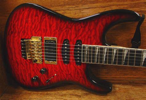 Guitar Jackson Dinky Custom warmoth custom jackson dinky usa qulted maple vai price