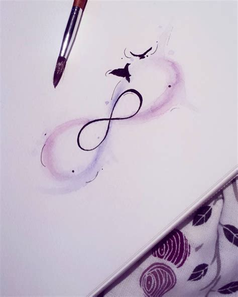 watercolor tattoo infinity watercolor infinity inspiration