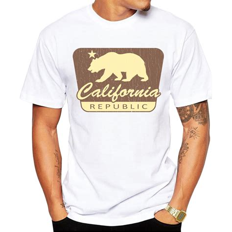 T Shirt Republic Of Gamers Chinays Fashion california shipping promotion shop for promotional