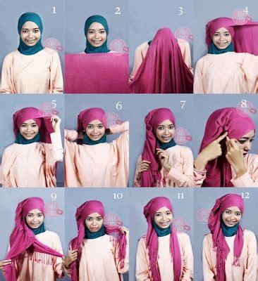 Jilbab Modern gambar cara memakai jilbab modern