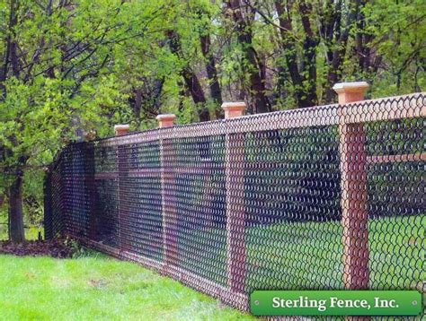 best 25 black chain link fence ideas on pinterest