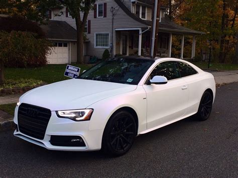 flat white color audi rs5 pearl white cadillac