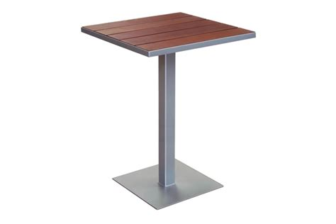 Large Bistro Table Etra Bar Height Large Bistro Table Modern Outdoor Designs