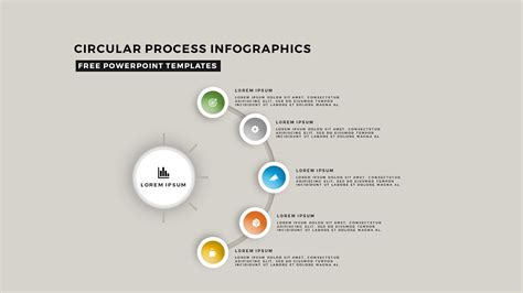 circular diagrams powerpoint templates circular process infographic diagrams for free powerpoint