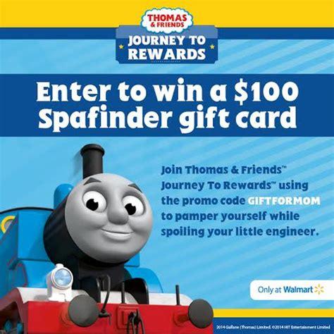 Redeem Spafinder Gift Card - thomas friends journey to rewards spa finder gift card giveaway