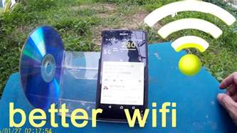 how to better how to get better wifi signal from diy phone