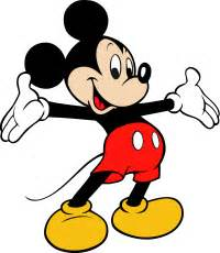 mickey mouse in spanish, french and chinese, children's
