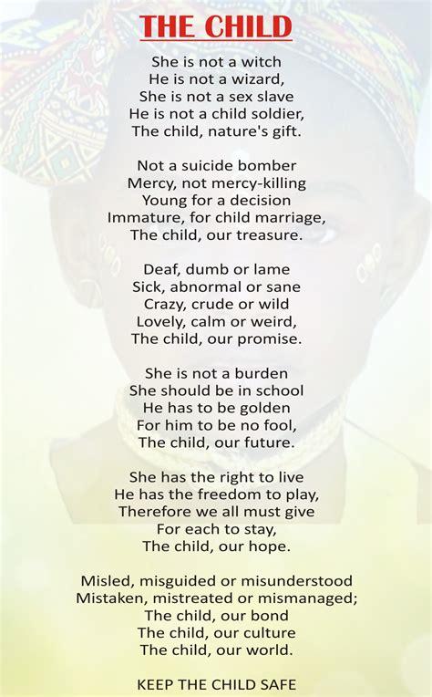 child poem poem the child duchess international magazine