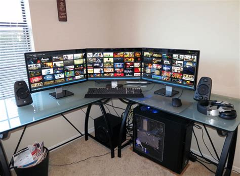 20 cool computer arrangements for gamers home design and