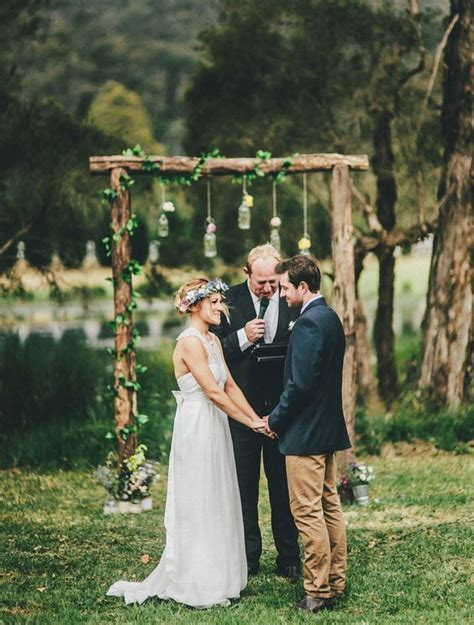 Wedding Arch With Jars by 17 Best Ideas About Wood Wedding Arches On