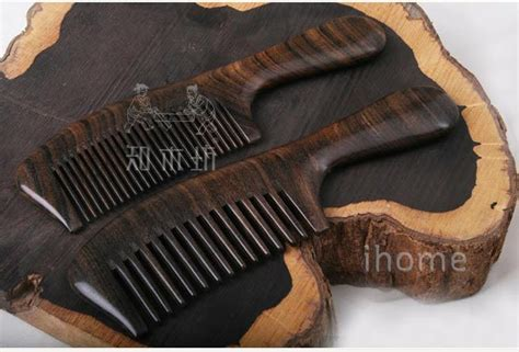 wood pattern pastry comb upscale boutique hair wooden combs luxury precious african