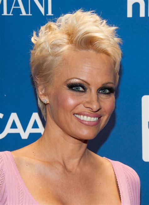 Pamela Anderson at Help Haiti Gala, January 2014
