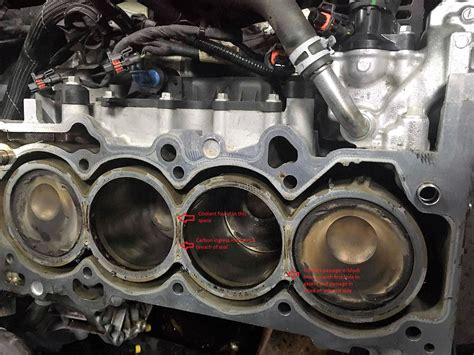 Ford Focus Engine Problems by Focus Rs Gasket Failure Mechanism Stratified