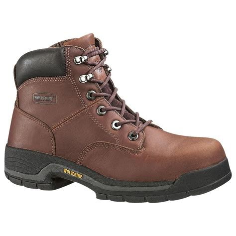 womans work boot wolverine womens 6in work boots w04677