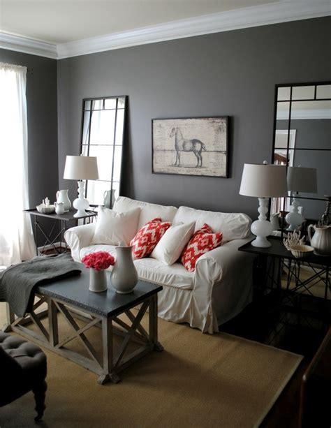 wohnzimmer rot grau wohnzimmer grau in 55 beispielen erfahren wie das geht