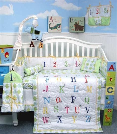 alphabet crib bedding soho a to z alphabet baby infant crib nursery bedding set