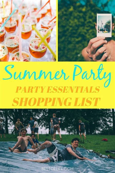list of best shopping summer essentials shopping list the best of 174