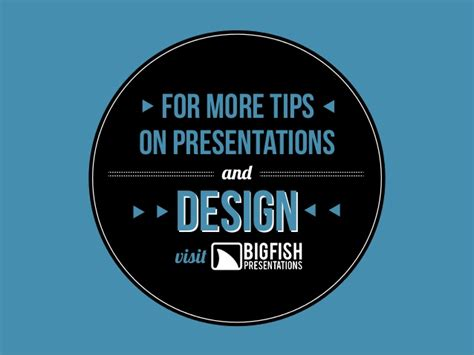 tips on presentation on pinterest presentation big fish for more tips on presentations