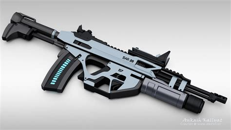 real futuristic the assault rifles of the near future images frompo