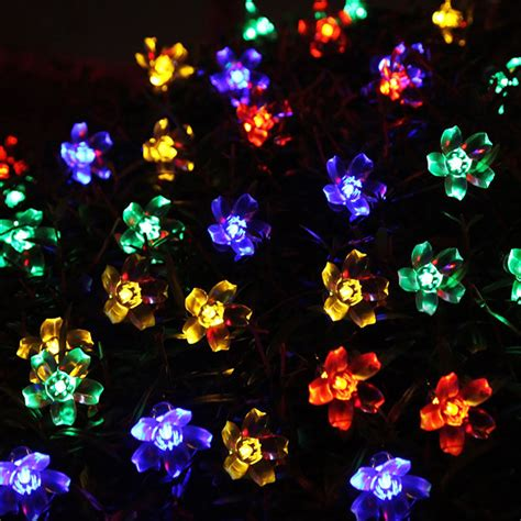popular solar powered christmas tree lights buy cheap