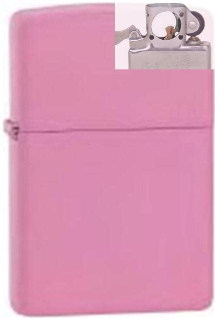 Zippo Original 238 Pink Matte zippo 238 pink matte lighter with pipe insert pl