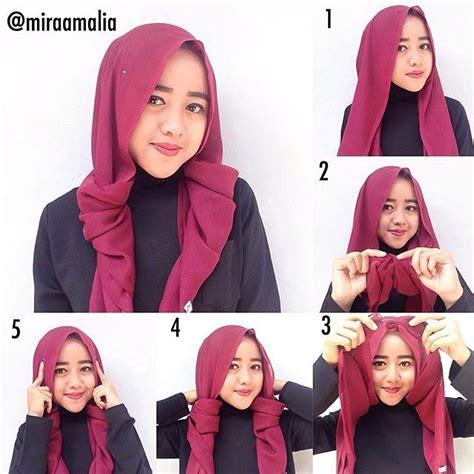 tutorial hijab casual khazanah islam