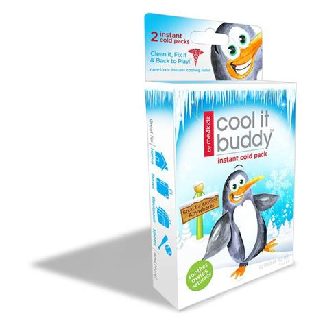 Pack Pack Lekuk 2 Cool Pack Cool Pack cool it buddy instant cold pack 2 pk me4kidz