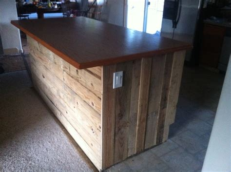 Pallet Kitchen Island Pin By Shawn Walter On Resourceful