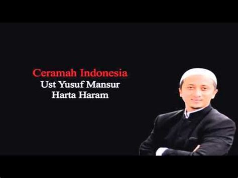 How To Enjoy Your Yusuf Mansur ust yusuf mansur harta haram doovi