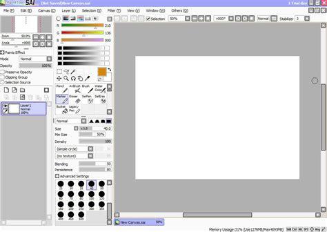 paint tool sai version 2 descargar descargar painttool sai 1 2 5 gratis