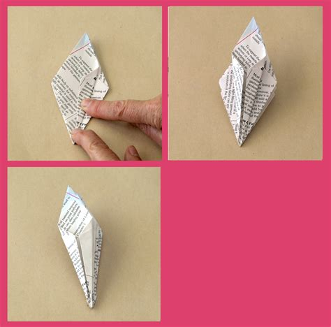 Chopstick Origami - how to whip up chopstick origami flowers freshly found